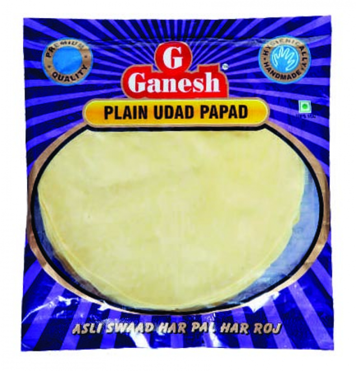 Ganesh Plain Udad Papad 200g