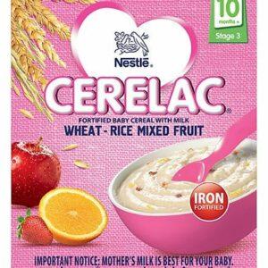 Nestle wheat rice mixed fruit 300 gms