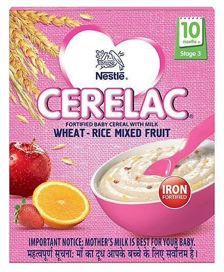 Nestle wheat rice mixed fruit 300 gms