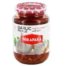 NIRAPARA GARLIC PICKLE 400G