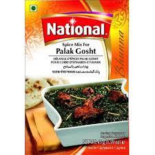 NATIONAL PALAK GOSHT 45G