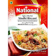 NATIONAL SINDHI BIRYANI 50G