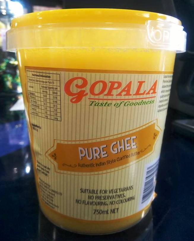 GOPALA PURE GHEE 750ML