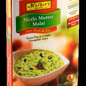 Mother's RTE Methi mutter malai