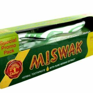 Dabur Miswak Toothpaste ( Free toothbrush )