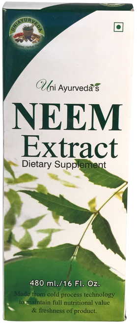 Uni Ayurveda'sNeem Extract Dietery Supplement 480 ml
