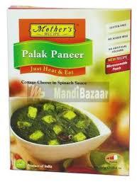 Mother's RTE Palak Paneer