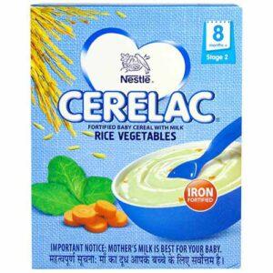 Nestle Cerelac rice vegetables 300 gms