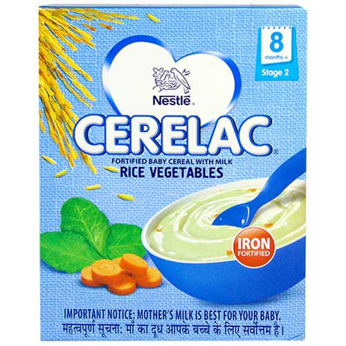 Nestle Cerelac rice vegetables 300 gms