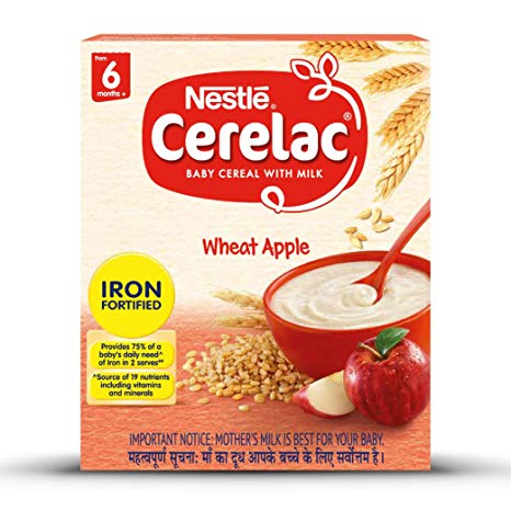 Nestle wheat apple ceralac 300 gms