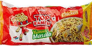 Nissan Top Ramen Yummy Masala Noodles